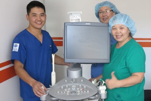 Envision-Donate-Ultrasound-to-Mongolia
